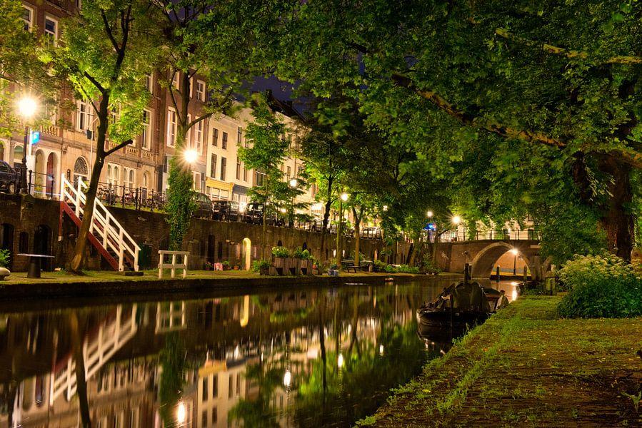Utrecht Oudegracht: Vollersbrug van martien janssen