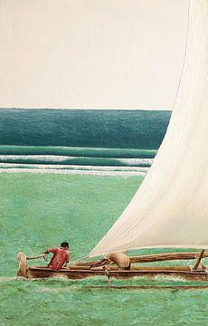 Sansibar Fischerboot von Russell Hinckley
