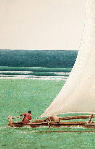Zanzibar vissersboot