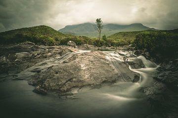 Sligachan waterval von Jasper van der Meij