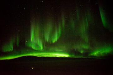 Noorderlicht boven Siberië von Tom Kraaijenbrink