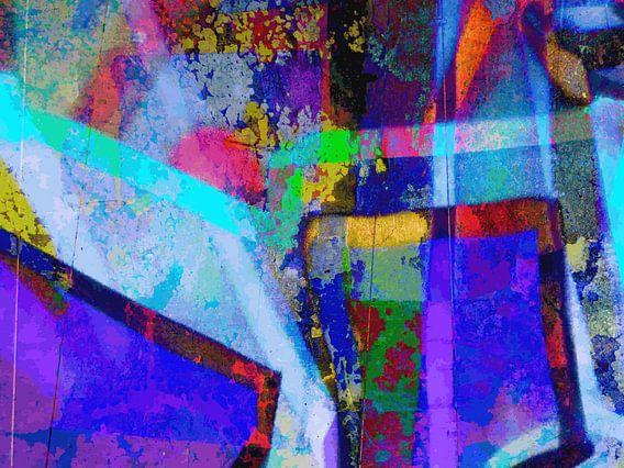 Modern, Abstract Digitaal Kunstwerk – Every Time I Let You Closer