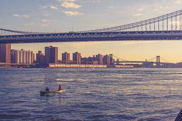 De bruggen in Dumbo New York 05 van FotoDennis.com
