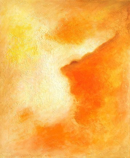 Oranje kleur van vreugde van Marita Zacharias