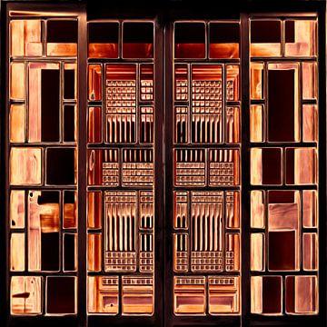 Fenster XVIII von Maurice Dawson