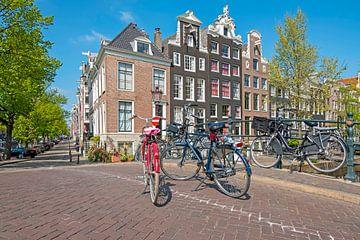 Stadsgezicht van Amsterdam aan de Reguliersgracht van Nisangha Masselink