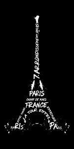 Digitale Kunst Eiffeltoren | Panorama