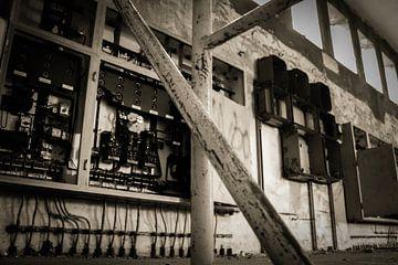 Verlaten gebouw von Bjorn van Limbeek