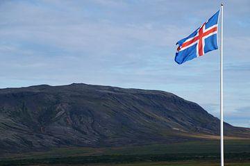 IJslandse vlag van Discover Dutch Nature