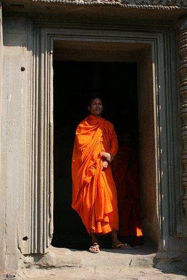 Man at the door van Paul Optenkamp
