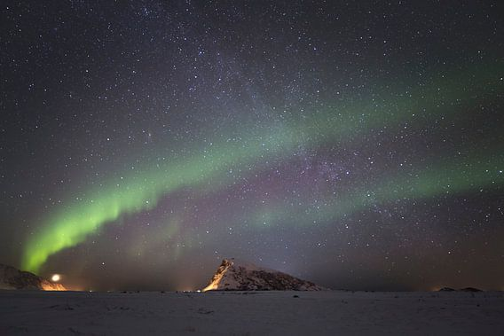 Aurora Borealis - Noorderlicht van Babs Boelens