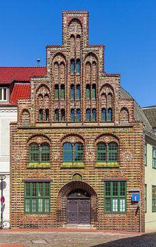 Historisches Kerkhoffhaus , Rostock, Mecklenburg-Vorpommern, Deutschland, Europa von Torsten Krüger