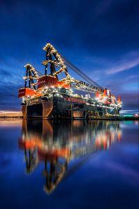 Sleipnir - grootste kraanschip ter wereld