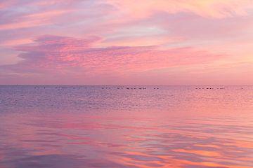 Sonnenaufgang Markermeer Edamer von Marianne Jonkman