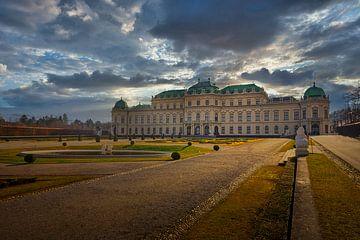 Schloss Belvedere, Wien von Dennis Donders