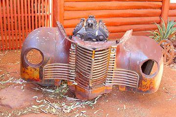 Motorblok autowrak, Australie van