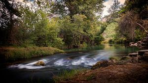 Water in de Dordogne van