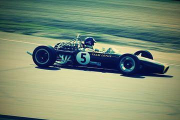 Lotus F1 raceauto van Roald Rakers