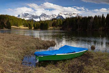 Ruderboot am Geroldsee