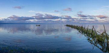 """Texel Wad - zeegezicht - """"Lonneke"""" - blauwe uurtje van Texel360Fotografie Richard Heerschap"""