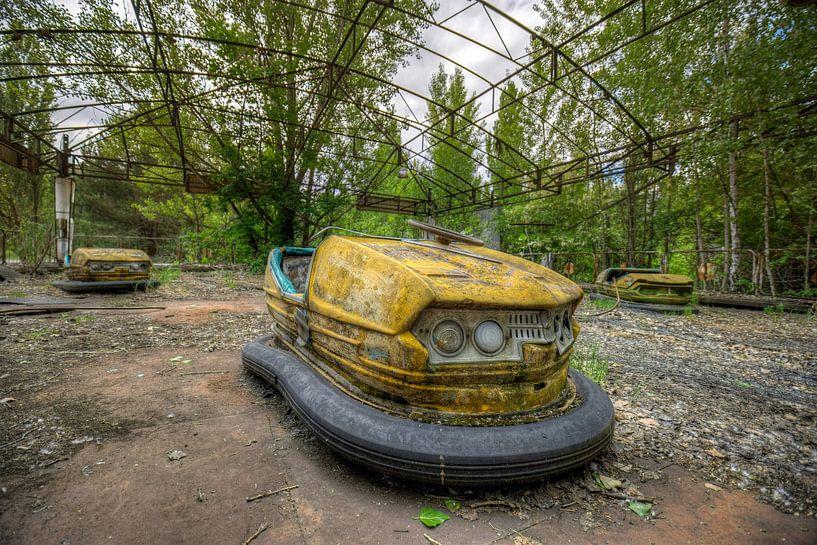 Autoscooter Tschernobyl von Henny Reumerman