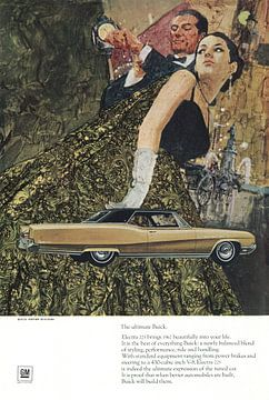Buick-Werbung 60er Jahre von Jaap Ros