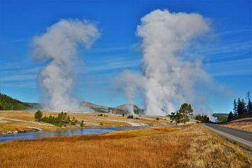 Yellowstone-Nationalpark, Wyoming USA von Egbert van Ede