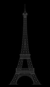 Der Eiffelturm von Marcel Kerdijk