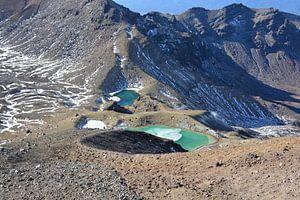Vulkanisch meer Tongariro NZ van Daphne Molendijk