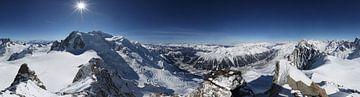 360° Panorama Aiguille du Midi van Jc Poirot