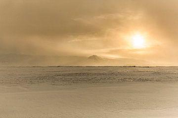 Bijzonder beeld zomaar ergens in IJsland
