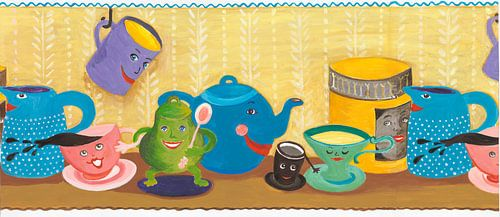 Tassenparade van Dorothea Linke