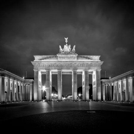 Brandenburg Gate BERLIN b/w