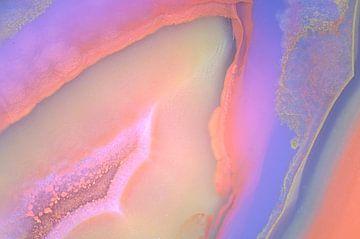 Kleurrijke agaat van Karin Tebes