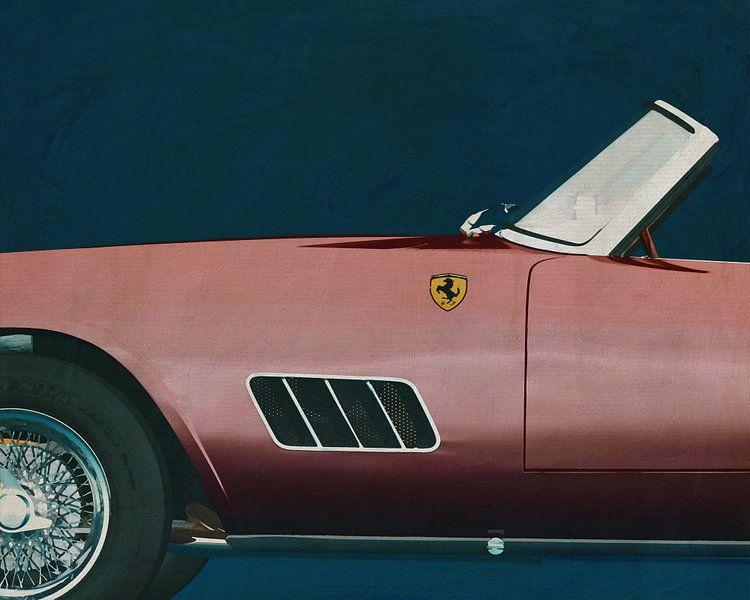 Ferrari 250GT Spyder Californië 1960 van Jan Keteleer