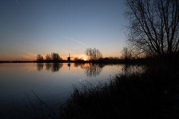 Mooie zonsopkomst Molen de Steendert von Moetwil en van Dijk - Fotografie