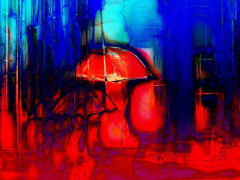 The red umbrella van Gabi Hampe