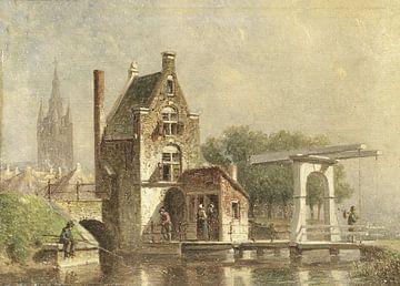 Der Koepoort in Delft, Petrus Gerardus Vertin
