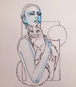 De box, kattenvrouw