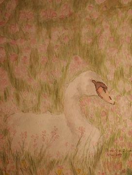 Oneindige liefde Zwaan (4446) van Erik van Vliet
