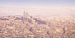Winterpanorama Sacré-Coeur Parijs van