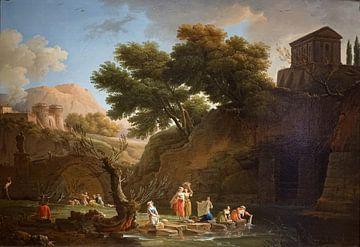 Die Wäscherinnen, Claude-Joseph Vernet