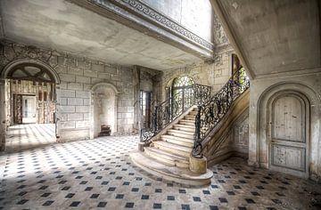 Wirbelnde Treppe von Roman Robroek