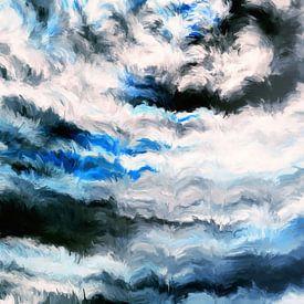 Abstrakter Impressionismus XI von Maurice Dawson