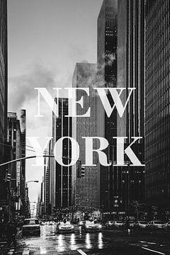 Städte im Regen: New York II von Christian Müringer