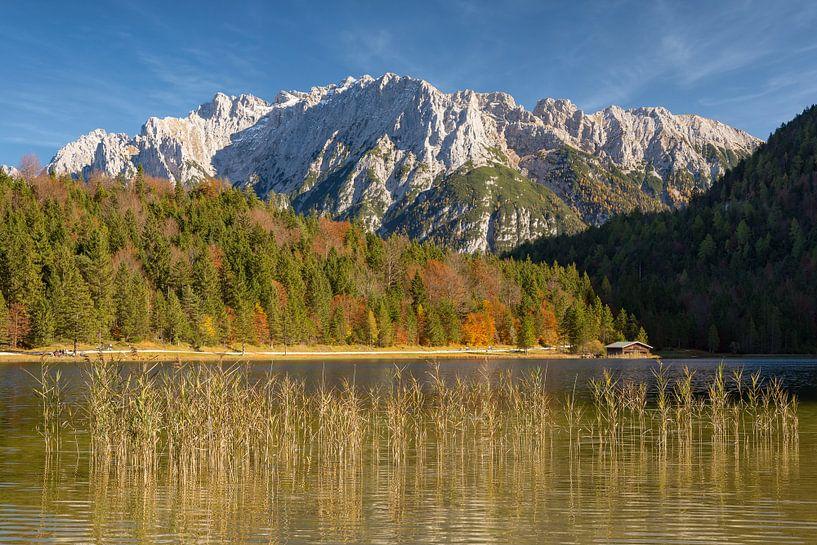 At Ferchensee near Mittenwald in Bavaria van Michael Valjak