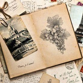 Vintage Parijs Frankrijk reisherinneringen van Christine aka stine1