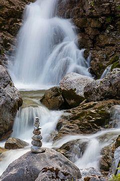 Kuhflucht Waterfalls van