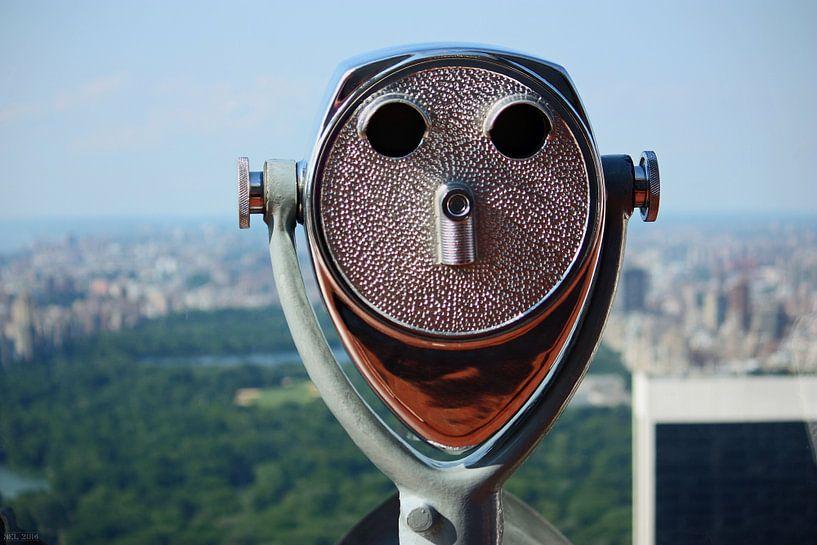 new york city ... distant view II van Meleah Fotografie