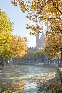 Le long de Gouwe à l'automne